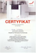 Certyfikaty Geoterm
